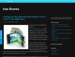 iranscores.com screenshot