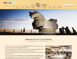 iranstravel.com screenshot