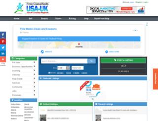 iraq.usauk-classifieds.com screenshot