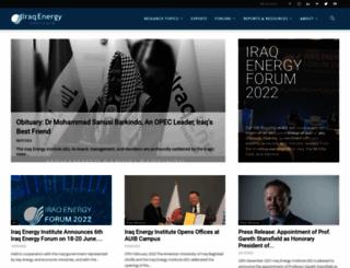 iraqenergy.org screenshot