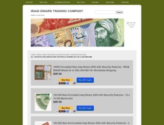 iraqidinars.com screenshot