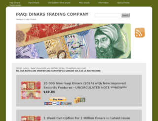 iraqidinars.net screenshot
