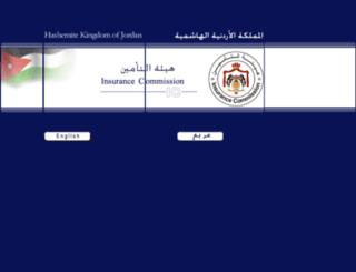 irc.gov.jo screenshot