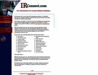 irconnect.com screenshot