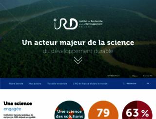 ird.fr screenshot