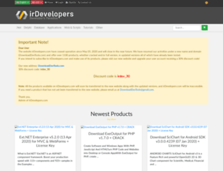 irdevelopers.com screenshot