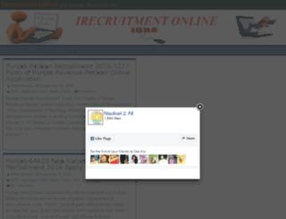 irecruitmentonline.com screenshot