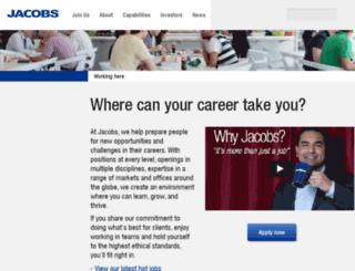 irecruitmentuk.jacobs.com screenshot