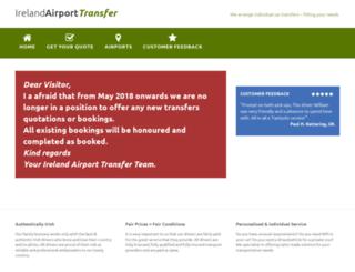 ireland-airport-transfer.com screenshot