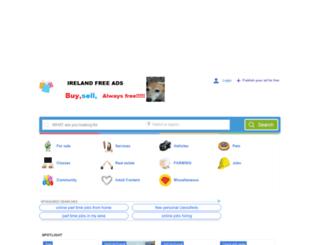 irelandfreeads.eu screenshot