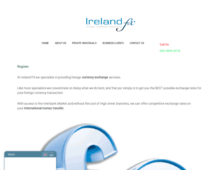 irelandfx.com screenshot