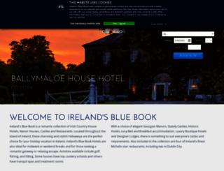 irelands-blue-book.ie screenshot