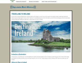 irelandsbesthotels.net screenshot