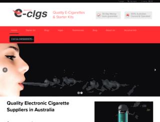 irenecarterecigs.com.au screenshot