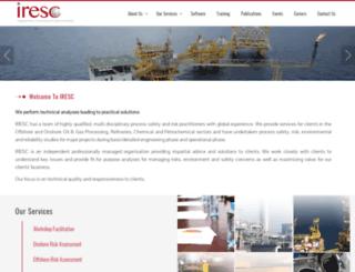 irescglobal.com screenshot