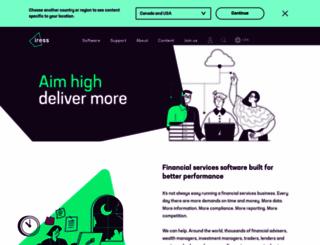 iress.com.au screenshot