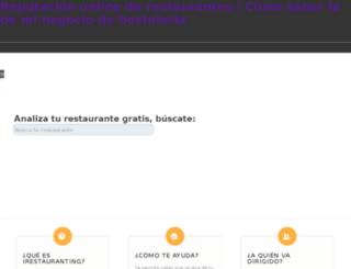 irestauranting.es screenshot