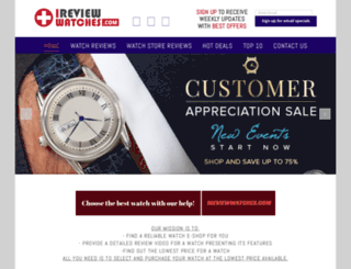 ireviewwatches.com screenshot