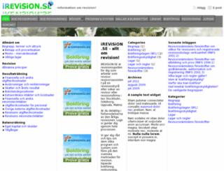 irevision.se screenshot