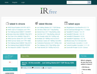 irfree.com screenshot