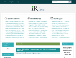 irfree.pw screenshot