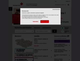 irfss-bretagne.croix-rouge.fr screenshot