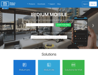 iridiummobile.net screenshot