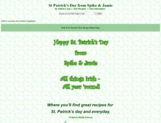 irish.spike-jamie.com screenshot