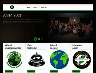 irishdancingorg.com screenshot