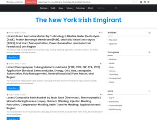 irishemigrant.com screenshot