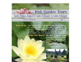 irishgardentours.com screenshot
