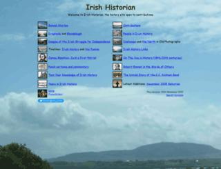 irishhistorylinks.net screenshot