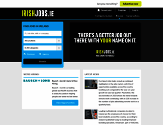 irishjobs.ie screenshot