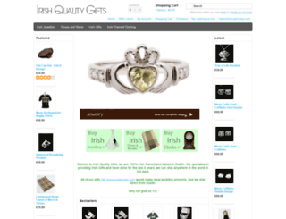 irishqualitygifts.com screenshot