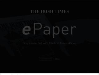 irishtimes.newspaperdirect.com screenshot
