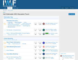 irishwebmasterforum.com screenshot