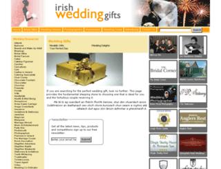 irishweddinggifts.com screenshot