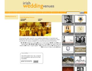 irishweddingvenues.com screenshot