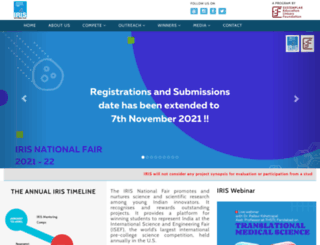 irisnationalfair.org screenshot