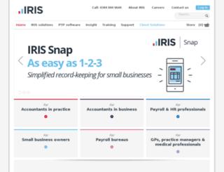 irisopenaudit.co.uk screenshot