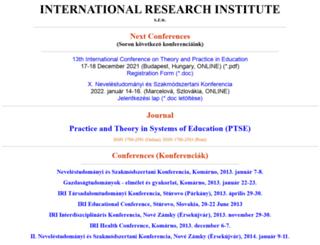 irisro.org screenshot