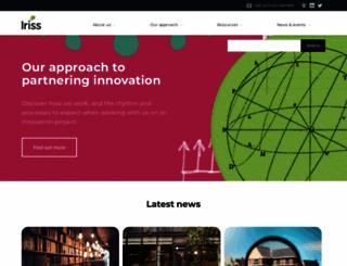 iriss.org.uk screenshot