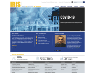 irissoftinc.com screenshot