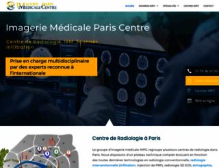 irm-paris.com screenshot