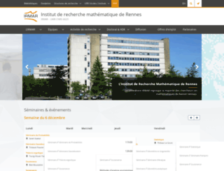 irmar.univ-rennes1.fr screenshot
