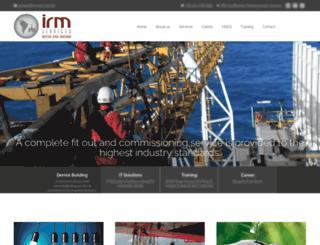 irmserv.com.br screenshot