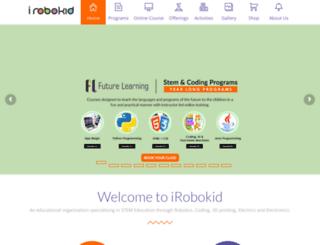 irobokid.com screenshot