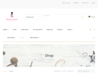 iromashop.com screenshot