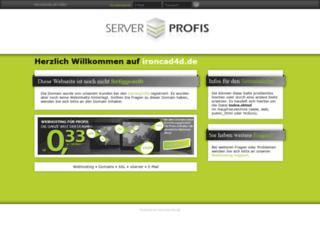 ironcad4d.de screenshot