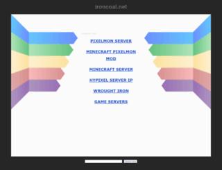 ironcoal.net screenshot